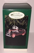 1937 Steelcraft Auburn Peddle Car Die-Cast Metal Hallmark Ornament  NIB - $9.89
