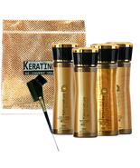 KERATIN CURE GOLD & HONEY V2 CREME 6 PIECE KIT FOR 2X HAIR REPAIR, 160ml... - $139.99