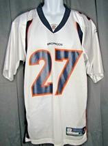 Reebok On Field NFL Jersey Knowshon Moreno #27 Denver Broncos Size Medium  - $22.90