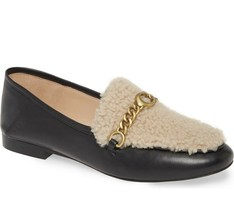 COACH Helena Convertible Loafer with Genuine Shearling Trim, Black, Size 6B, NWB - $148.47
