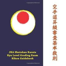 JKA Shotokan Karate Kyu-level Grading Exam Kihon Guidebook Taichiro Kaijima - $19.00