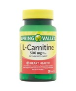 Spring Valley L-Carnitine Capsules, 500 mg, 30 Ct..+ - $12.99