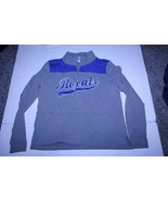 Women's Kansas City Royals L 1/4 Zip Pullover Jacket (Gray) PINK Victori... - $14.01