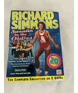 Richard Simmons Sweatin' to the Oldies DVD Set Time Life HAS ISSUE - $12.95
