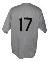 Bismarck Churchills Retro Baseball Jersey 1935 Button Down Grey Any Size image 5