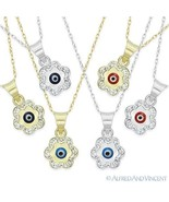 Evil Eye Turkish Nazar Greek Mati Charm Hamsa Kabbalah Pendant Necklace ... - $119.99