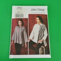 Vogue Pattern V9271 Julio Cesar Size L XL XXL Blouse Jacket - $11.99