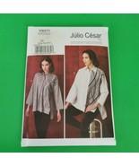 Vogue Pattern V9271 Julio Cesar Size L XL XXL Blouse Jacket - $11.99