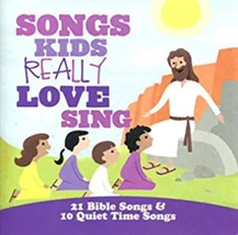 songs kids really love to sing ~ 21 bible songs & More Cd image 1