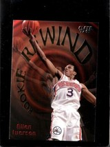 1997 Fleer Rookie Rewind #5 Allen Iverson Nm *E8851 - $1.24