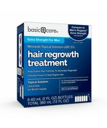 Basic Care Minoxidil Topical Solution USP 5% Hair Regrowth Treatment for... - $41.58