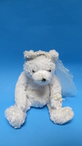 TY Retired Beanie Original Baby Bride White Bear Just Tush Tag - $5.89