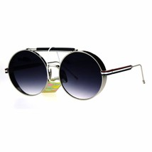 Vintage Retro Fashion Sunglasses Side Cover Round Circle Unisex Shades - $12.95