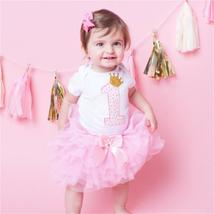 Lovely girls romper skirt + headband outfit clothes - $13.56