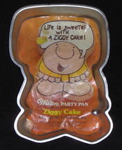 Wilton Cake Pan ZIGGY 502-7628 1978 - $14.00