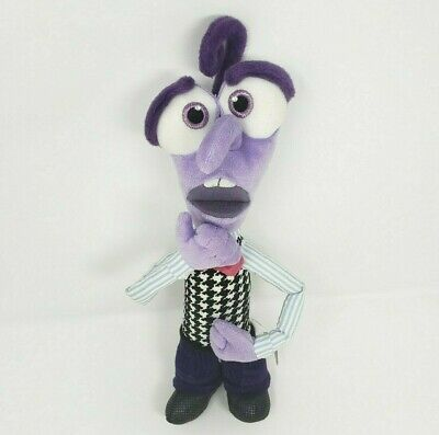 "Primary image for 12"" DISNEY STORE INSIDE OUT PURPLE FEAR STUFFED ANIMAL PLUSH TOY DOLL PIXAR SOFT"