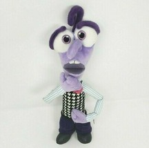 "12"" DISNEY STORE INSIDE OUT PURPLE FEAR STUFFED ANIMAL PLUSH TOY DOLL PI... - $32.73"