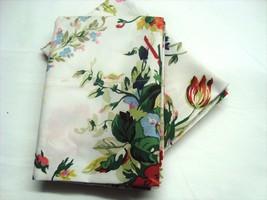 2 Standard Pillowcases Set two new Ralph Lauren BELLE HARBOR WHITE FLORA... - $68.89