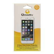Qmadix Screen Guard Protector for the Apple iPhone 6s Plus 6 Plus - Clear - $5.38