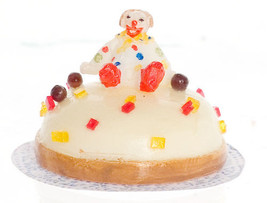 DOLLHOUSE MINIATURE 1 PC CAKE #WA3634 - $5.70