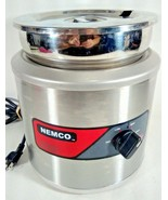 Nemco Cooker Warmer with Stainless Soup Pot Inset and Lid Commercial Mod... - $119.95