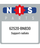 62520BN830 Nissan SUPPORTRADIATO, New Genuine OEM Part - $83.40