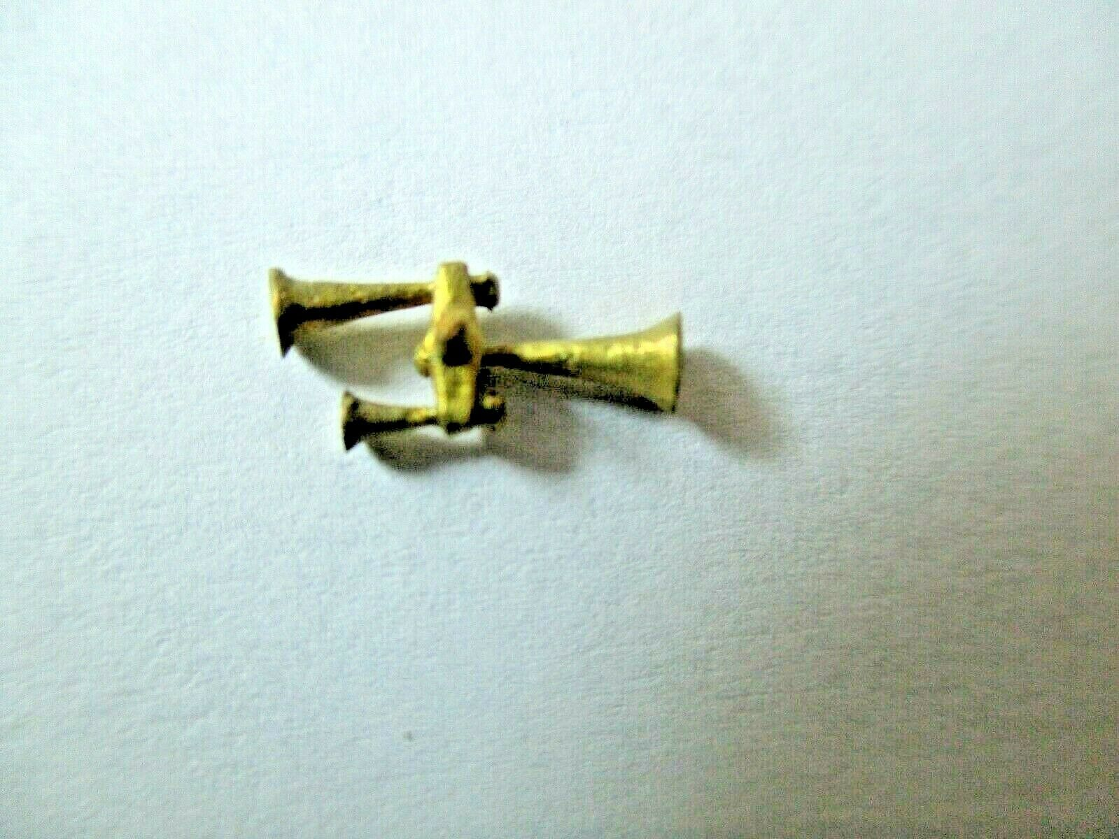 Cal Cal Scale # 190-630 Brass Leslie Air Horn 3 chime S3LR1.  1 Pack HO Scale