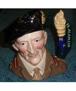 Field Marshal Montgomery Royal Doulton Toby Character D6908 LIMITED EDIT... - $270.63