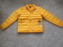BNWT The North Face Aconcagua 2 Jacket, Men, 75% Down, Size M, Summit Gold, $169 - $133.65