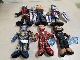 Lot of 6 - Official Marvel Avengers Endgame 9 Inch Plush - $40.84
