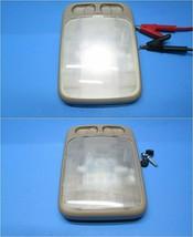 Nissan Maxima 95-99 Infiniti I30 96-99 rear interior dome light BEIGE LED OEM - $23.03
