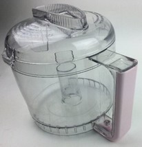 Cuisinart DLC-2AWB & 2AWBC Mini-Prep Plus Food Processor Pink Bowl And Lid - $23.12