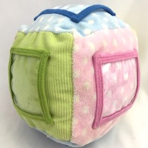 Kids Preferred Photo Picture Cube Rattle Plush Baby Toy image 1