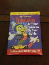 Disney Store Associate Pinocchio 60th Anniversary Pin - $3.91
