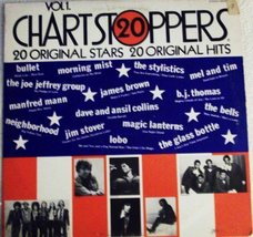 Twenty Chart Stoppers - Vol.1 [Vinyl] Lobo; The Stylistics; James Brown;... - $9.00