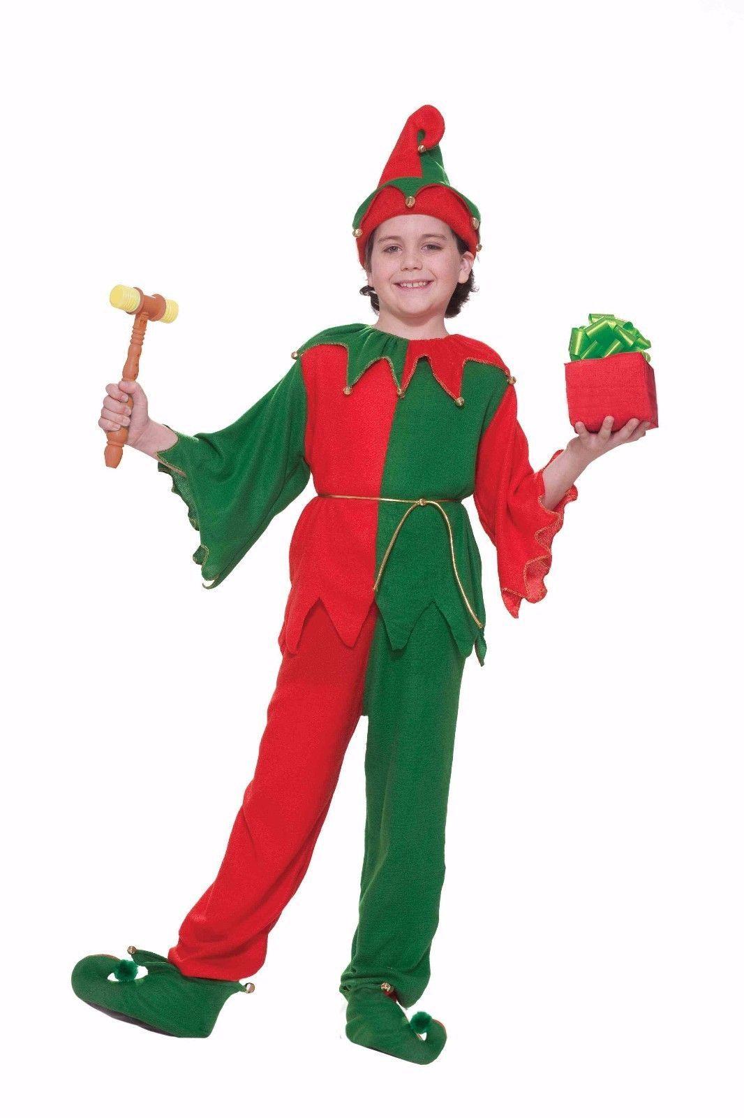 Forum Novità Babbo Natale Elfo Natale Vacanza Costume Bambini 65488