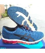 """Asics woman""""s gel quantum 360 5 mako blue running shoes size 10.5 US - $148.45"""