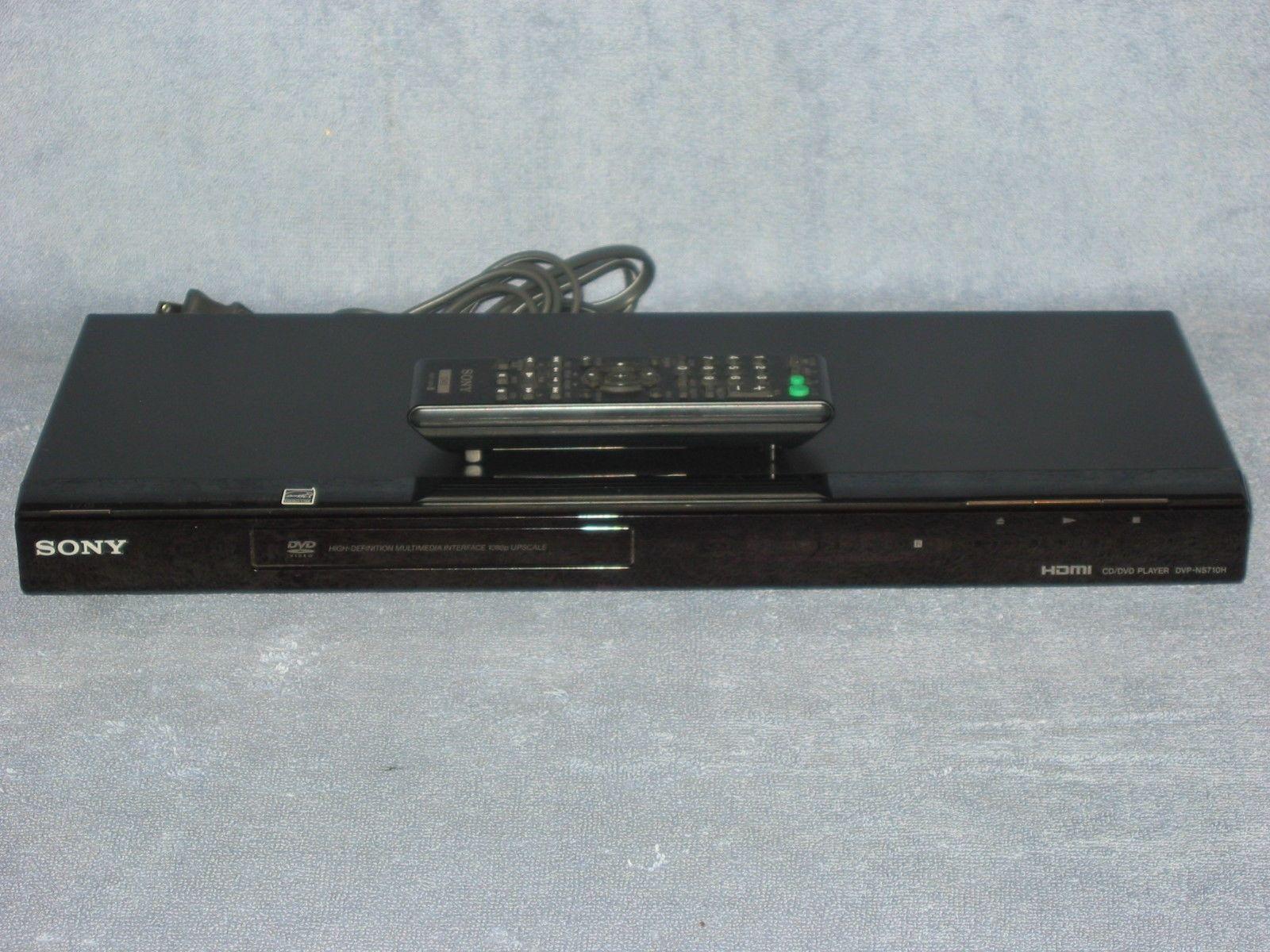 sony dvp ns710h dvd cd player remote and 50 similar items rh bonanza com Sony DVPSR510H Sony DVD Player
