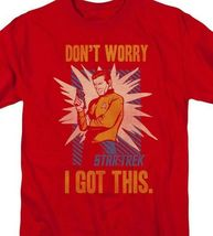 Star Trek t-shirt Don't worry I got this classic TV graphic tee CBS1379 image 3