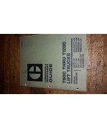 Caterpillar T60c Thru T120c Lift Trucks Lubrication & Maintenance guide ... - $34.16
