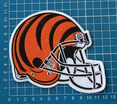 "CINCINNATI BENGALS NFL FOOTBALL 5"" HELMET LOGO PATCH JERSEY EMBROIDERED - $20.00"