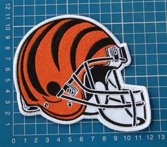 "CINCINNATI BENGALS NFL FOOTBALL 5"" HELMET LOGO PATCH JERSEY EMBROIDERED - $20.00"