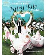 Fairy Tale Wedding Barbie Carriage Cake Sweetheart Arch Candelabra Celeb... - $15.79