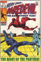 Daredevil Comic Book #52 Marvel Comics 1969 FINE+ - $24.11