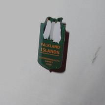 Falkland Islands Commonwealth Games Pinback Australia 2018 Caribbean Gol... - $19.94