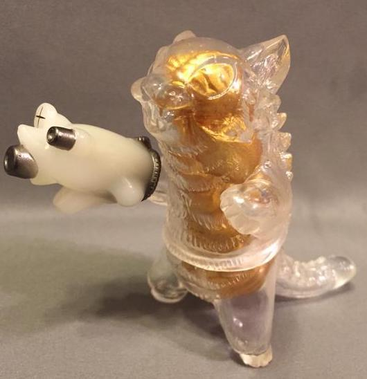 Max Toy Clear Negora w/ Gold Guts RARE EXCLUSIVE