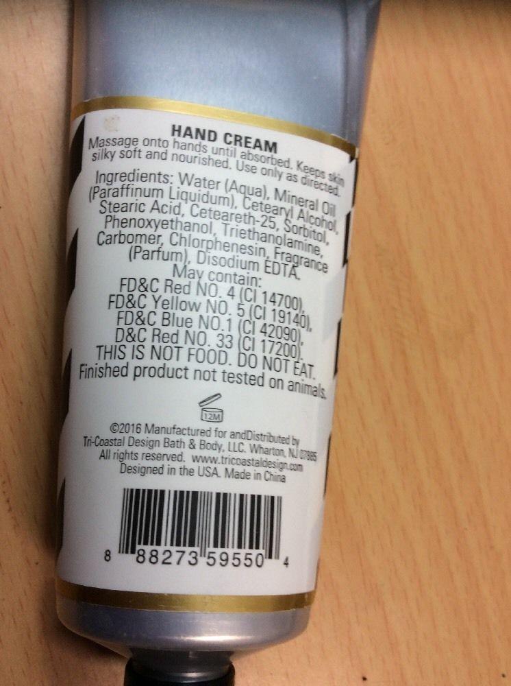 Lila Grace Fresh Lavender Hand Cream - 3 fl oz Brand New