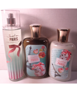 Bath & Body Works Body Mist Lotion Shower Gel Set  Sweet On Paris - $79.99