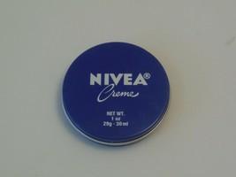 Nivea Creme 1 oz travel tin made in GERMANY Inner Sealed TSA - $14.85