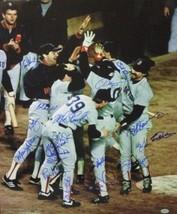 Marty Barrett signed Boston Red Sox 16x20 Color Photo (ALCS MVP) 1986 AL... - $159.00
